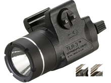 Streamlight TLR-3 Compact LED Weapon Light - Rail Locating Key Kit Fits Most Handguns or H&K USP Mounts - 125 Lumens - Includes 1 x CR2