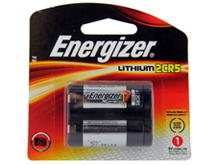 Energizer EL2CR5-BP 1500mAh 6V Lithium Primary (LiMNO2) Photo Battery - 1 Piece Retail Card