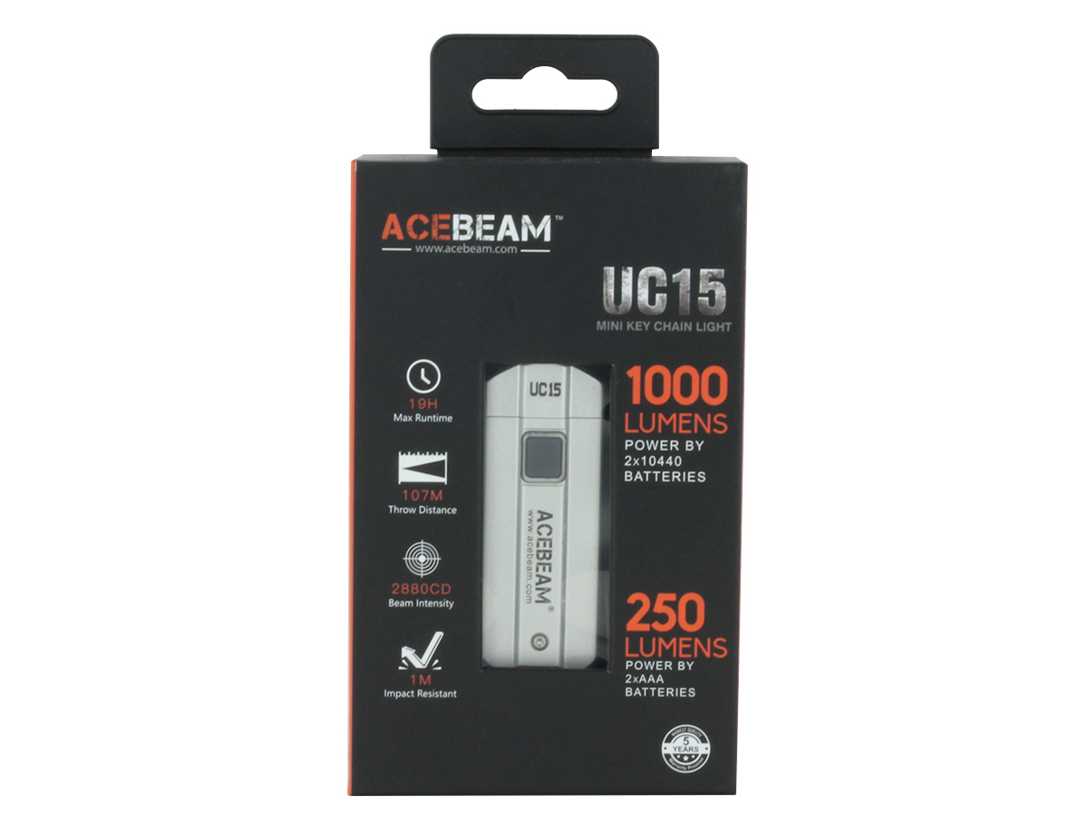 Acebeam UC15 color options