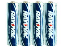 Rayovac 815-4SH (4PK) AA 1.5V Alkaline Button Top Batteries - 64 Shrink Packs per Case
