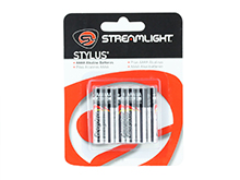 Streamlight 65030 AAAA 1.5V Alkaline Button Top Batteries - 6 pack