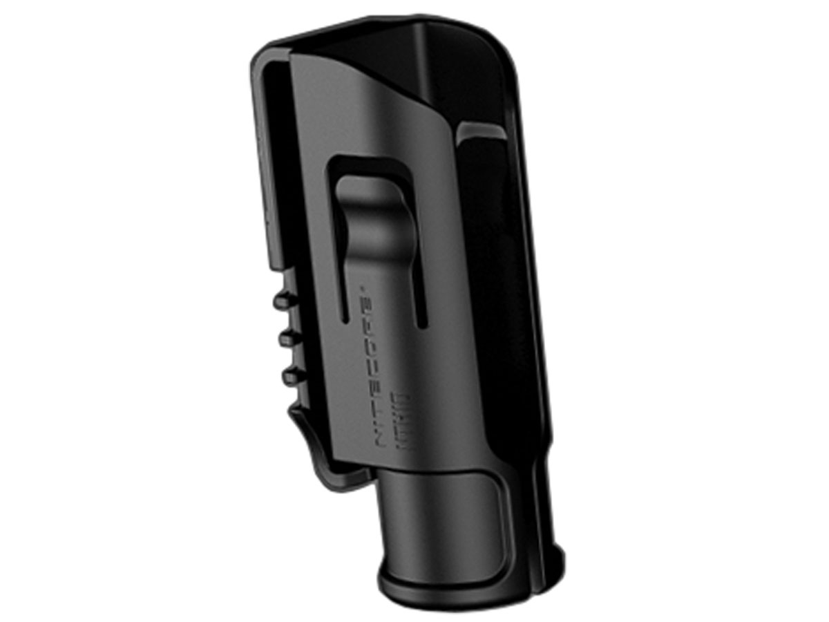 Nitecore NTH10 holster for New P12 upright