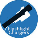 Flashlight Chargers - Cradles, Docks & Cables