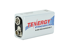 Tenergy Premium 10005 9V 200mAh 8.4V Nickel Metal Hydride (NiMH) Battery with Snap Connector - Bulk