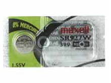 Maxell SR927W 399 60mAh 1.55V Silver Oxide Button Cell Battery - Hologram Packaging - 1 Piece Tear Strip, Sold Individually