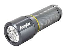 Energizer Vision HD 3AAA Performance Metal Flashlight - 270 Lumens - Includes 3 x AAA (EPMHH32E)