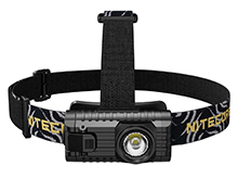 Nitecore HA23 Ultra Lightweight Headlamp - CREE XP-G2 S3 - 250 Lumens - Uses 2 x AA (included)