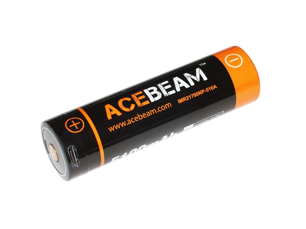 Acebeam IMR 21700 side profile