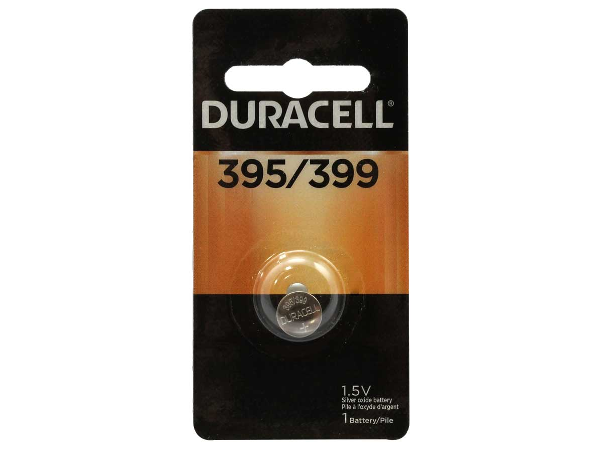 Retail Card Packaging for Duracell 395-399 Coin Cell