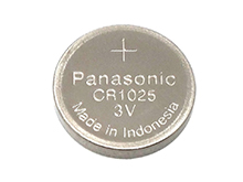 Panasonic CR1025 30mAh 3V Lithium (LiMnO2) Coin Cell Battery - Bulk
