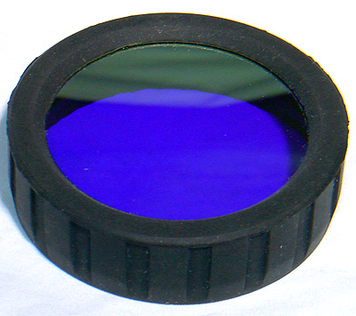 AE Light PowerLight blue filter front view