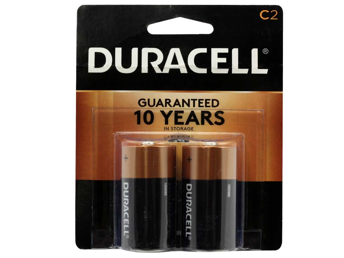 Duracell C Lr14 Coppertop Battery Mpn Mn1400b2z 2 Pack