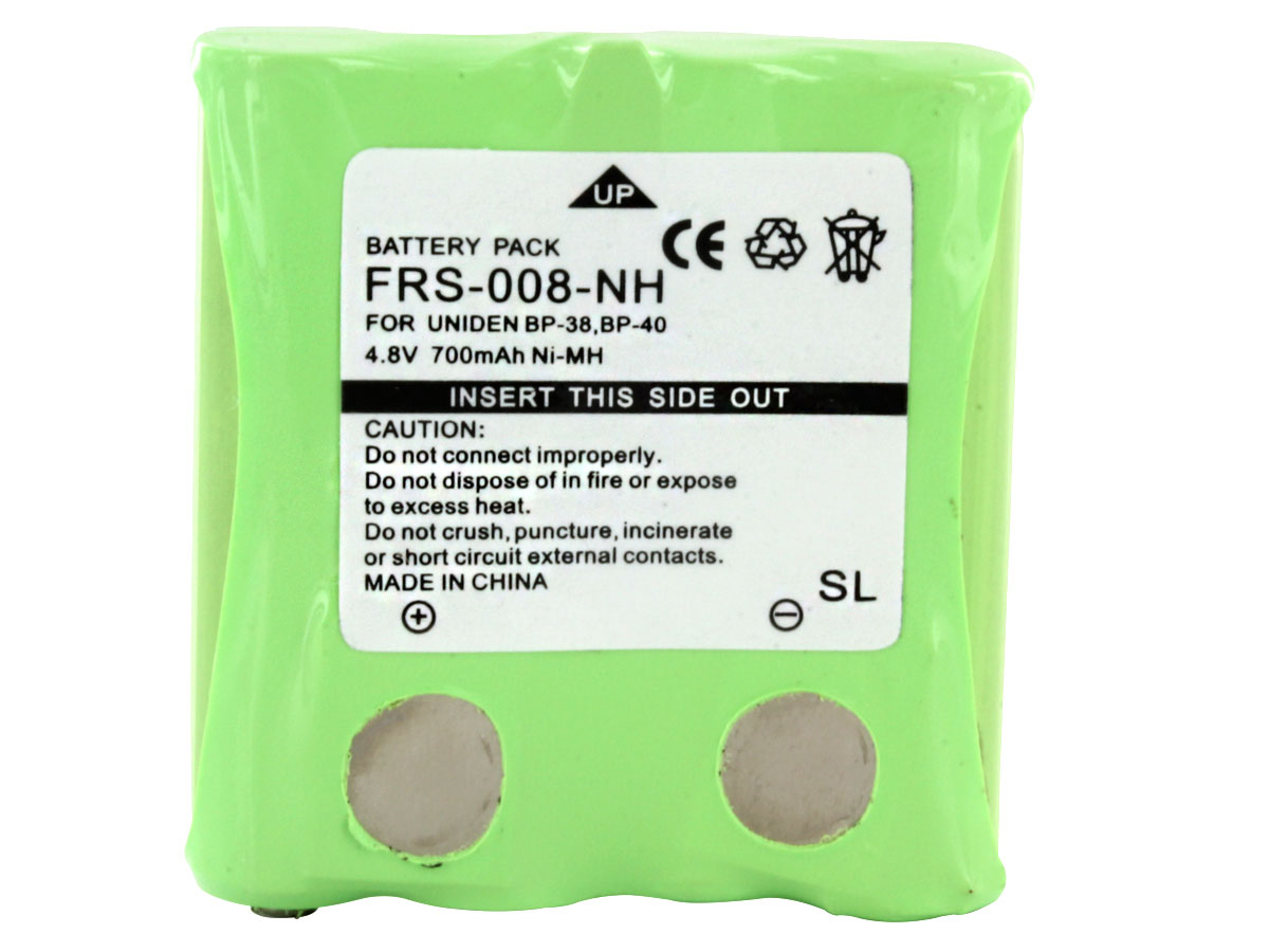 Front view of Empire FRS-008-NH battery pack