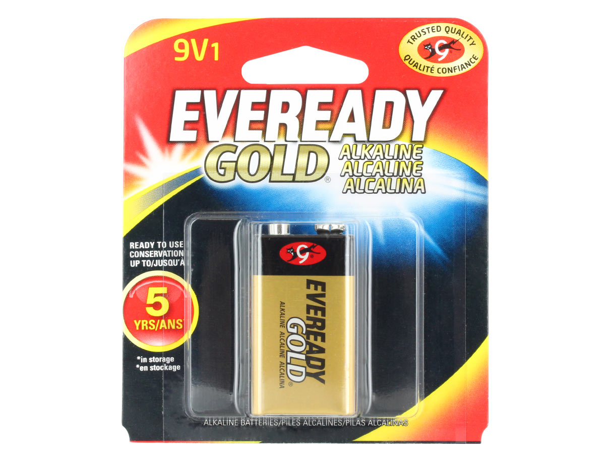 Energizer Eveready A522 battery in 1 piece retail card