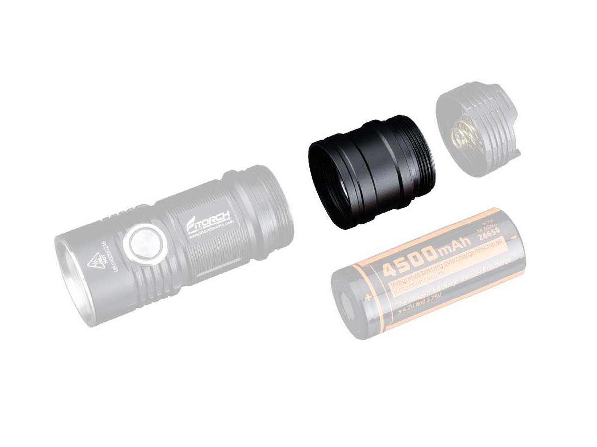 FiTorch ET25 Extender Tube Parts and Pieces
