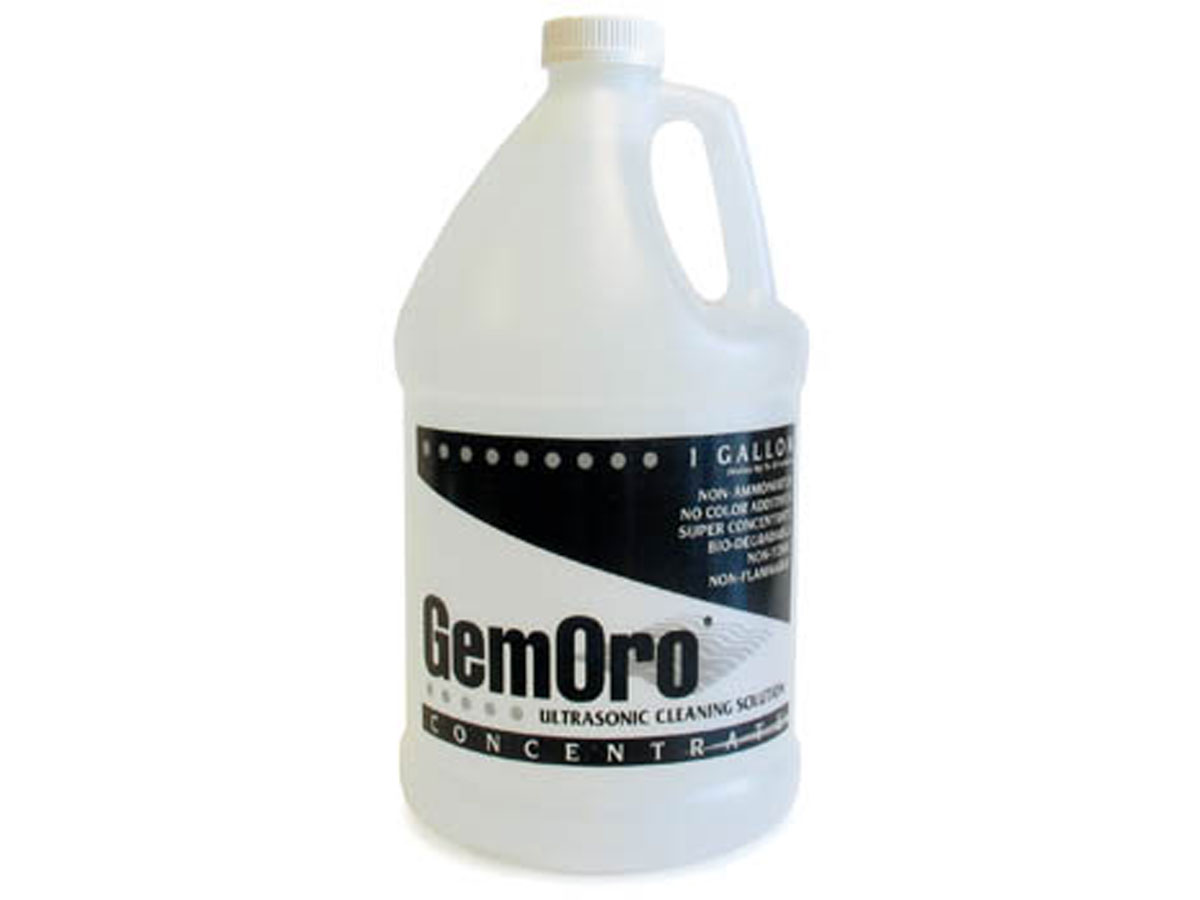 Gemoro Ultrasonic Cleaning Solution gallon size front view