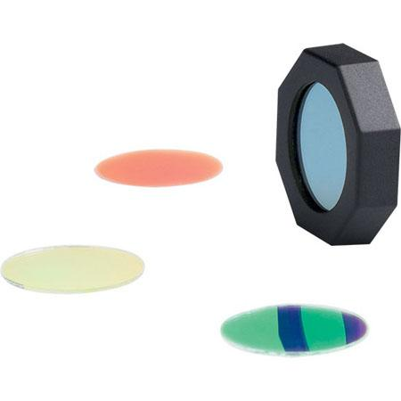 Ledlenser Filter Set with red, green, blue, and yellow filters