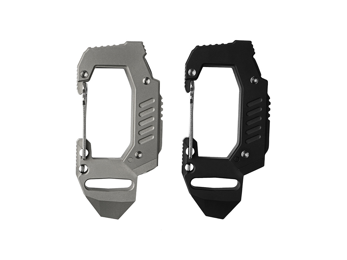 MecArmy FL10 Carabiner Flashlight Front view