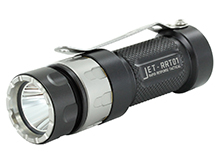 Jetbeam Jet RRT-01 LED Flashlight - CREE XP-L - 950 Lumens - Uses 1 x 16340 or 1 x 18350