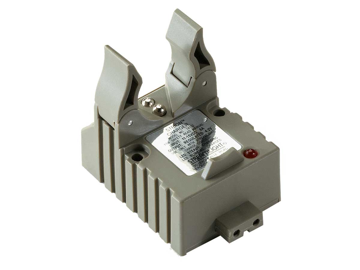 Clip-in Charger Station for Streamlight Strion Tactical Flashlight