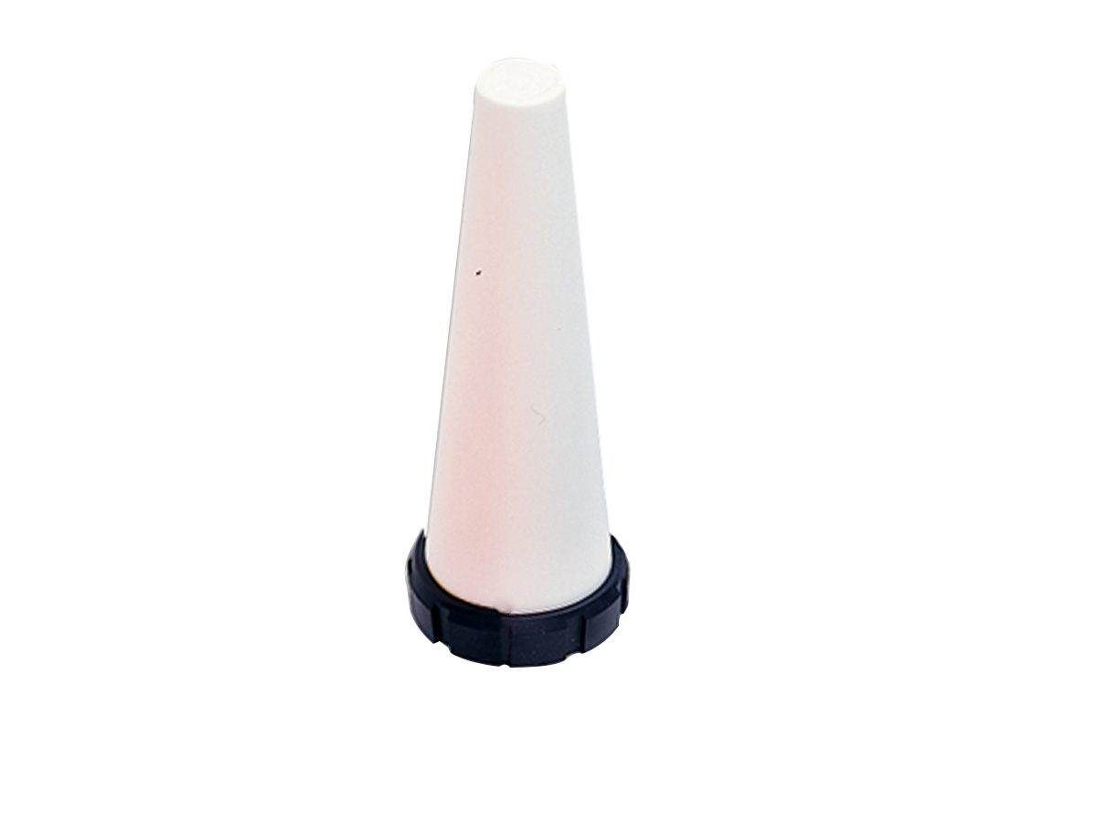 White Flashlight Cone
