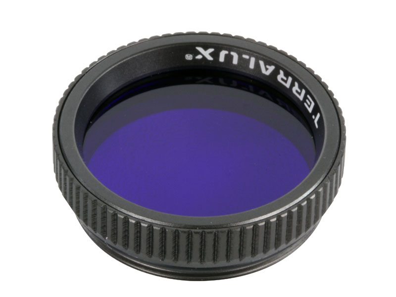 Terralux blue filter front view