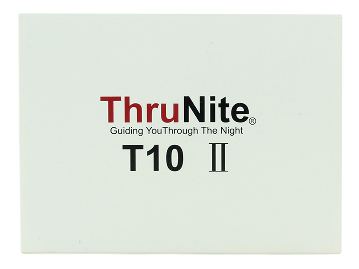 ThruNite T10 II outside packaging