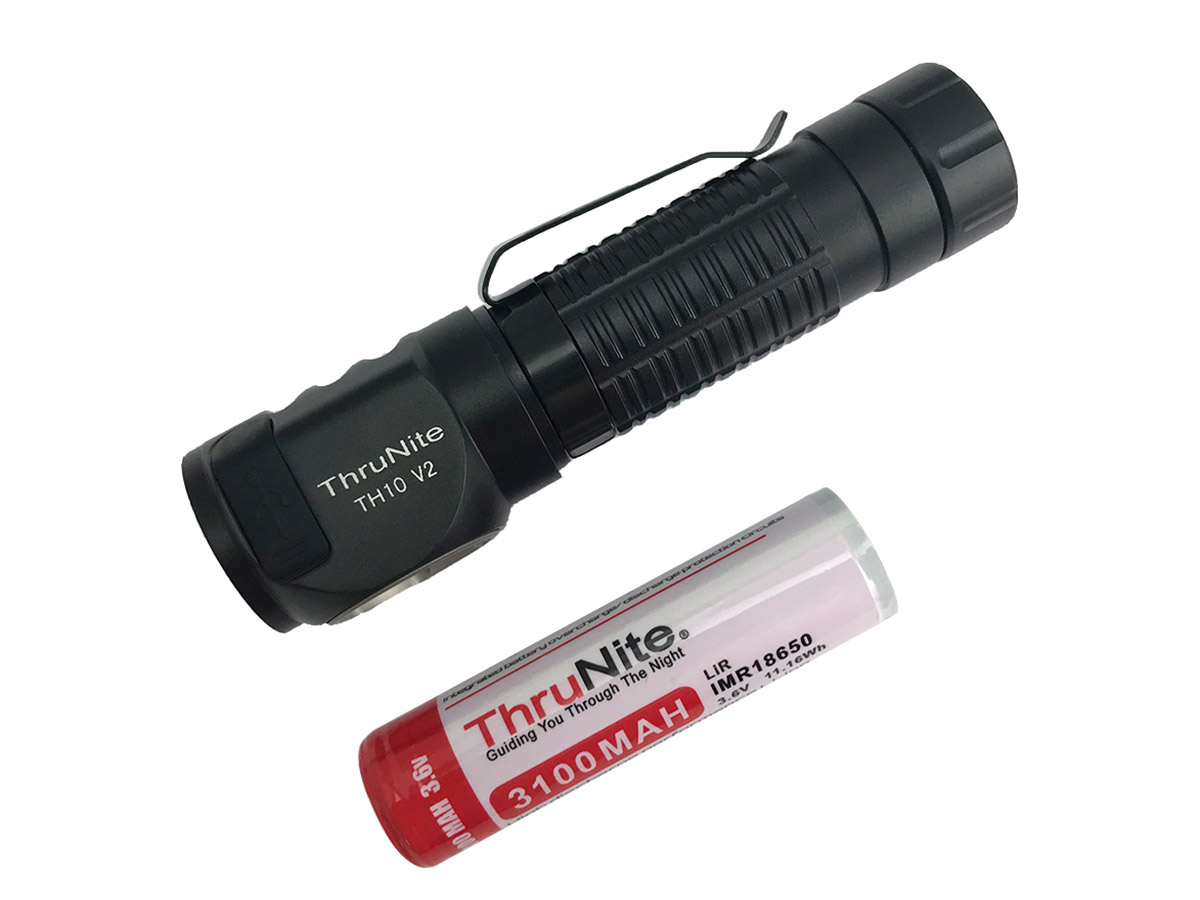 th10 v2 headlamp, light only with included battery