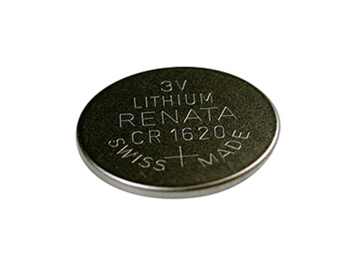 renata cr1620 coin cell by itself without packaging