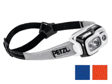 Petzl Swift RL Rechargeable Headlamp - 900 Lumens - Includes 2350mAh Li-ion Battery Pack