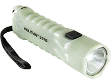 Pelican 3310PL LED Flashlight - 378 Lumens - Includes 3 x AA - Photoluminescent