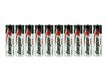 Energizer Max E91 (10SHK) AA 1.5V Alkaline Button Top Batteries - 10 Pack Shrink Wrap