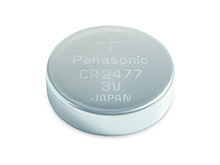 Panasonic CR2477 1000mAh 3V Lithium (LiMnO2) Coin Cell Battery - Bulk
