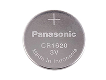 Panasonic CR1620 75mAh 3V Lithium (LiMnO2) Coin Cell Battery - Bulk