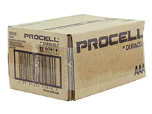 Duracell Procell PC2400 (144PK) AAA 1.5V Alkaline Button Top Batteries - Contractor Pack of 144