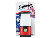 Energizer WeatherReady Emergency LED Lantern - 500 Lumens - Uses 3 x D Cells or 3 x AA Batteries