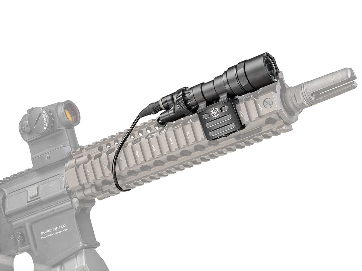 Surefire M312C mounted on weapon
