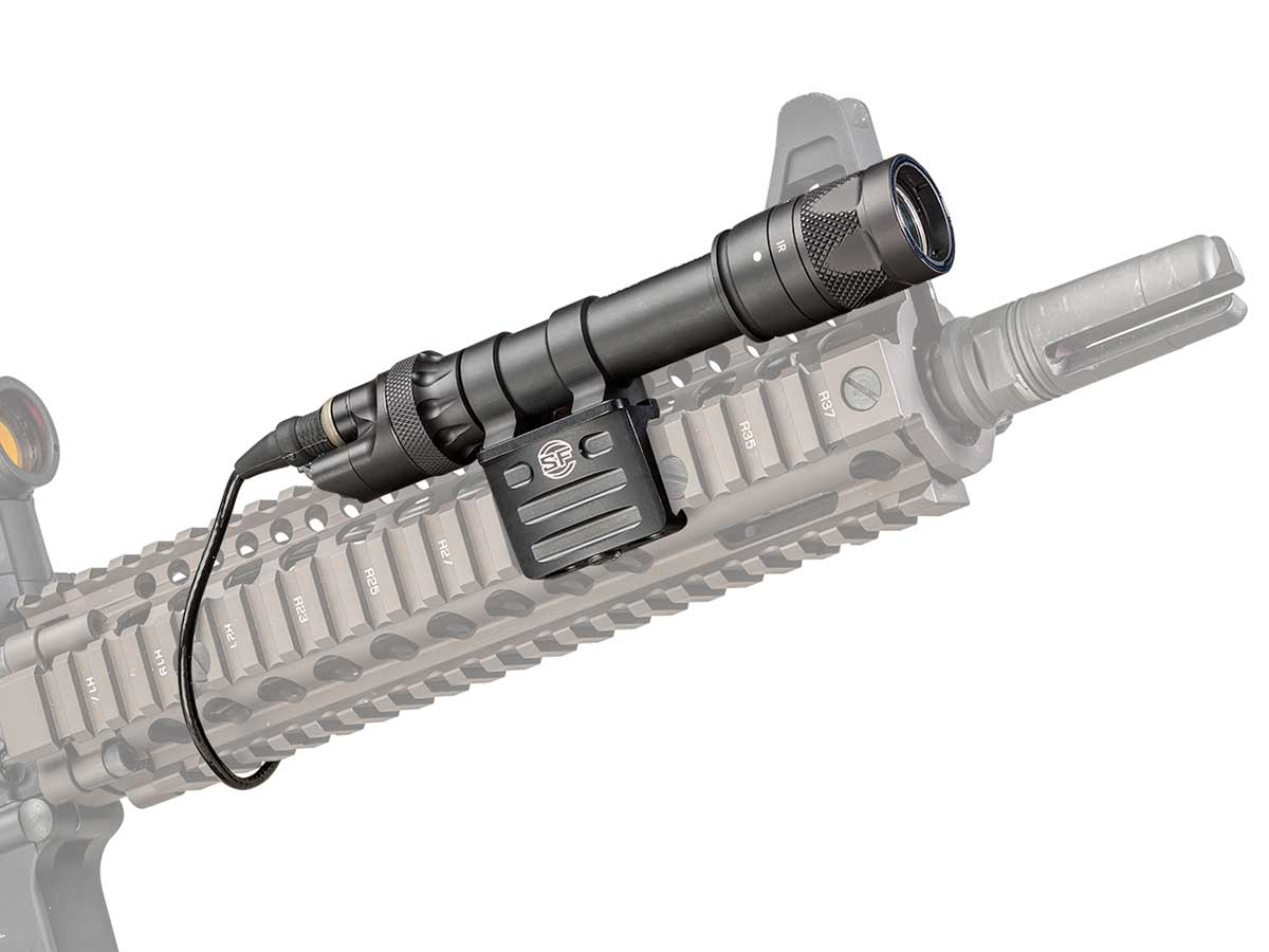 Surefire M612V mounted on weapon
