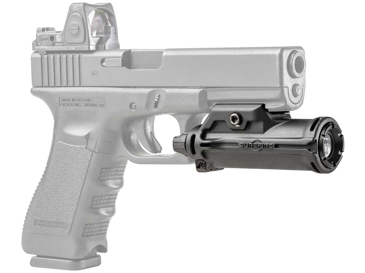 Surefire XH15 Weaponlight mounted on weapon