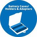 Battery Cases, Holders & Adapters