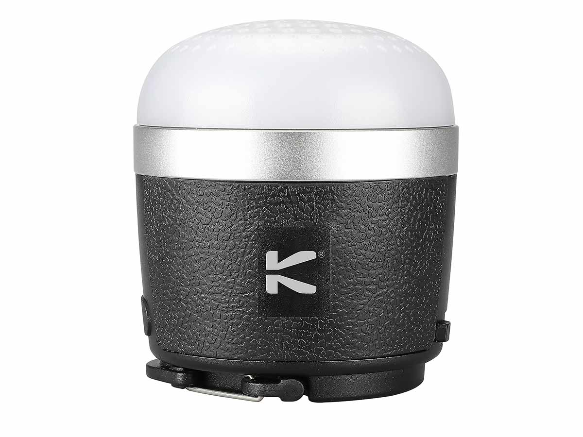 Front view of Klarus CL1 Lantern and Speaker