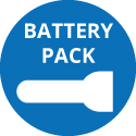 Battery Pack Flashlights