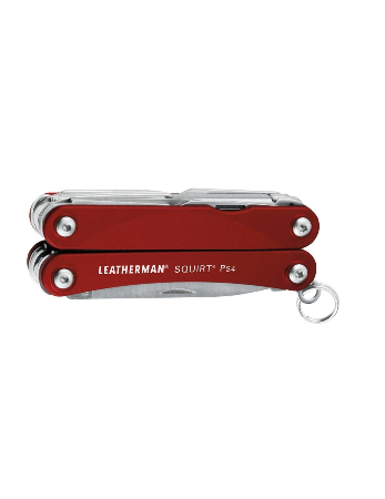Leatherman Squirt PS4 multi-tool in blue closed