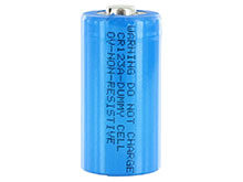 CR123A Size Dummy Cell - 0 Voltage for Flashlight spacer DUMMY-CR123A