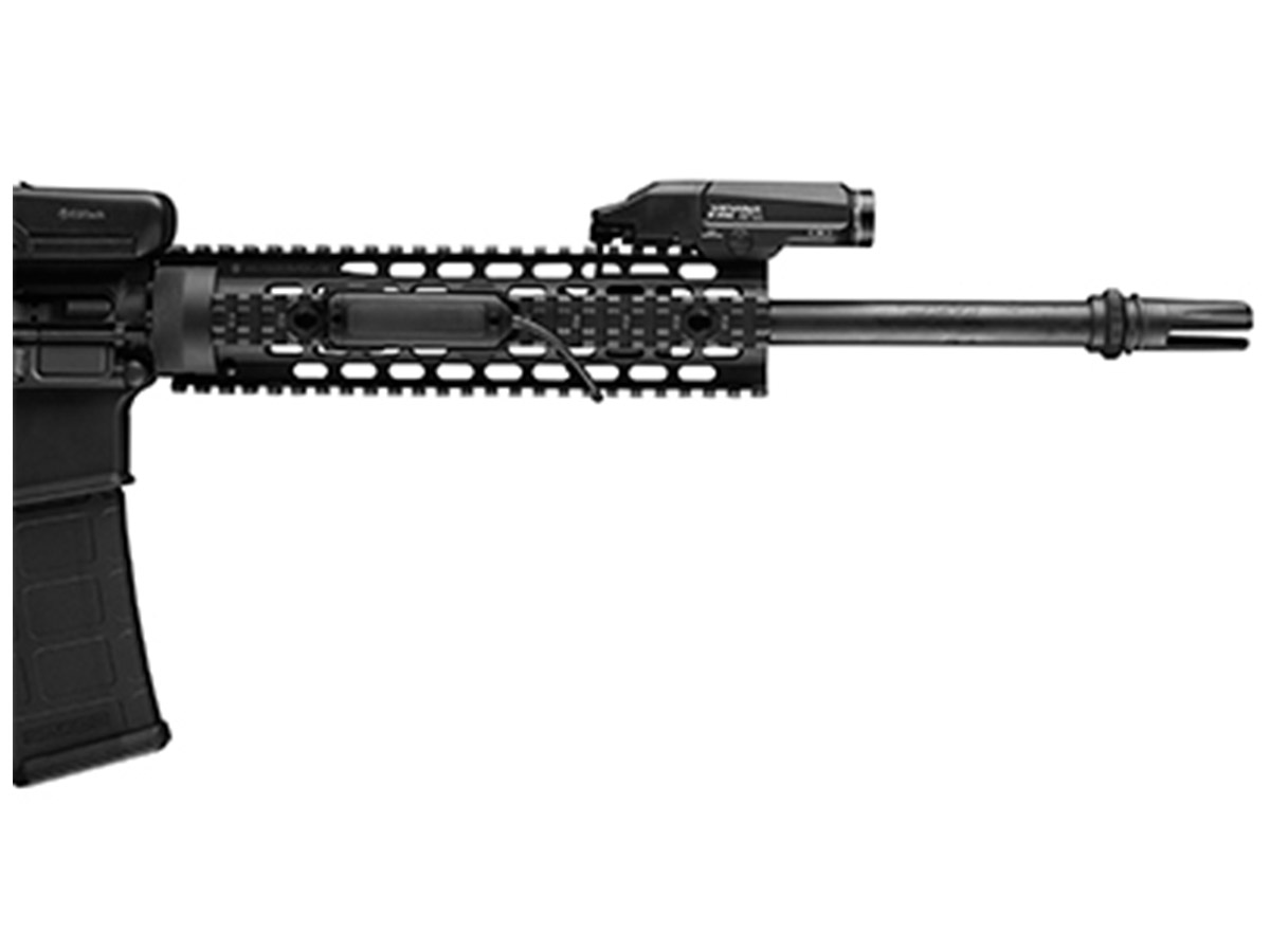 Streamlight TLR RM 2 mounted on a weapon
