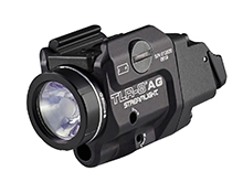 Streamlight TLR-8 A G Low-Profile Rail Mounted Weapon Light with Green Laser and Switch Options - 500 Lumens - Includes 1 x CR123A - 69434