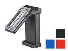 Streamlight 61500 Flipmate Compact Multi-Functional Rechargeable LED Worklight - 500 Lumens - Includes Built-In Li-ion Battery Pack - Black, Red, or Blue