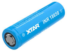 Xtar Molicel 18650 2600mAh 3.6V Unprotected High-Drain 35A Lithium Ion (Li-ion) Flat Top Battery
