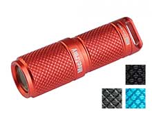 MecArmy X4S Rechargeable Mini LED Flashlight - CREE XP-G2 - 130 Lumens - Includes 1 x 10180 - Available in 4 Colors