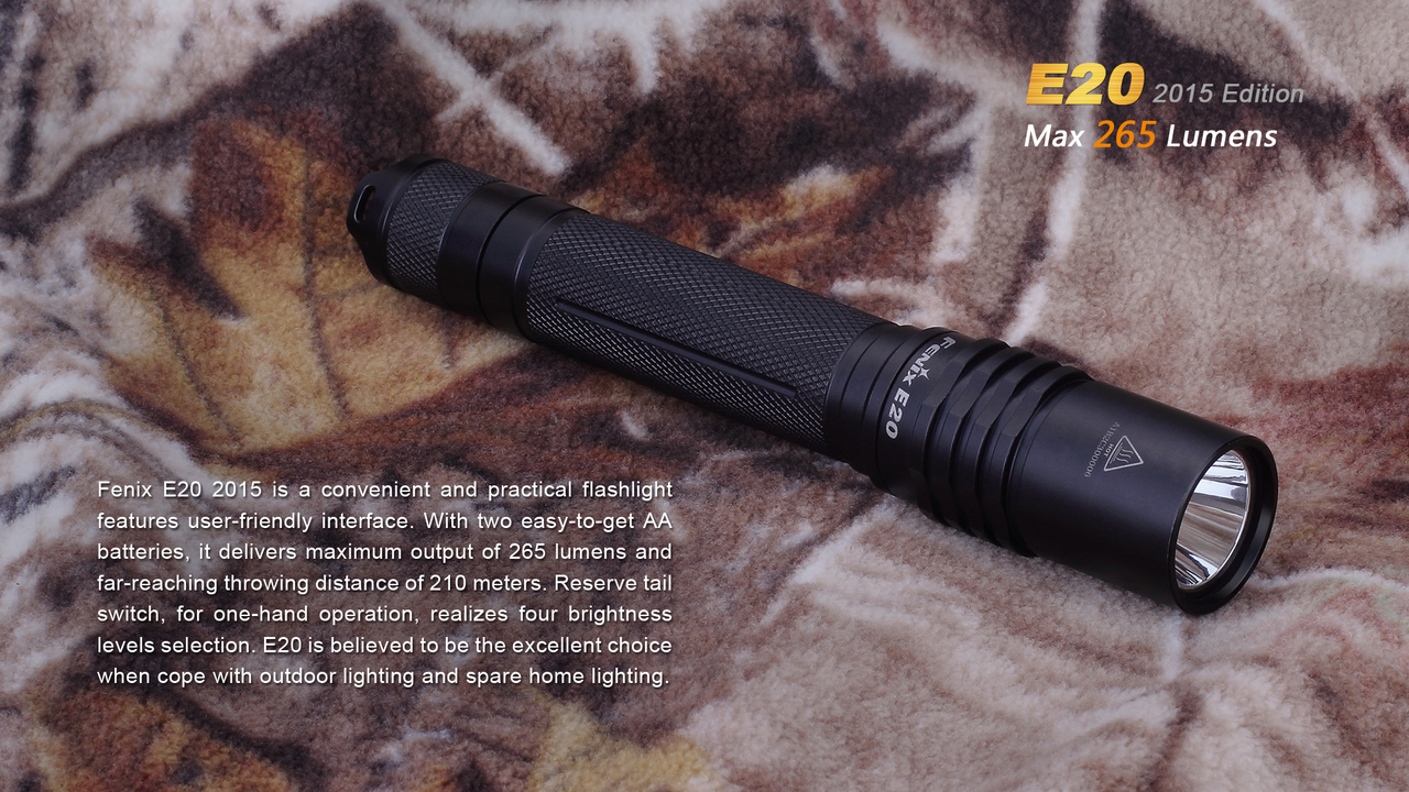 Slide three for Fenix E20